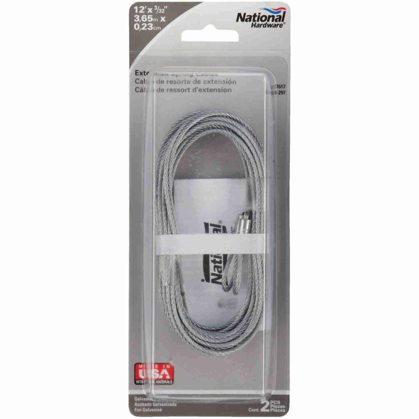 Prime-Line 3/32 In. Carbon Steel Extension Cable Image 2