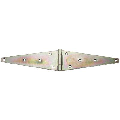 National 4.60 In. x 12 In. Zinc Heavy-Duty Strap Hinge