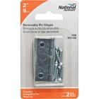National 2 In. Zinc Loose-Pin Narrow Hinge (2-Pack) Image 2
