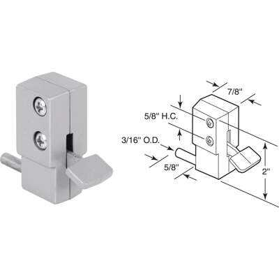 Defender Security Aluminum Step-On Patio Door Lock