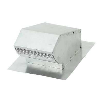 Lambro 7 In. Aluminum Roof Vent Cap with Damper