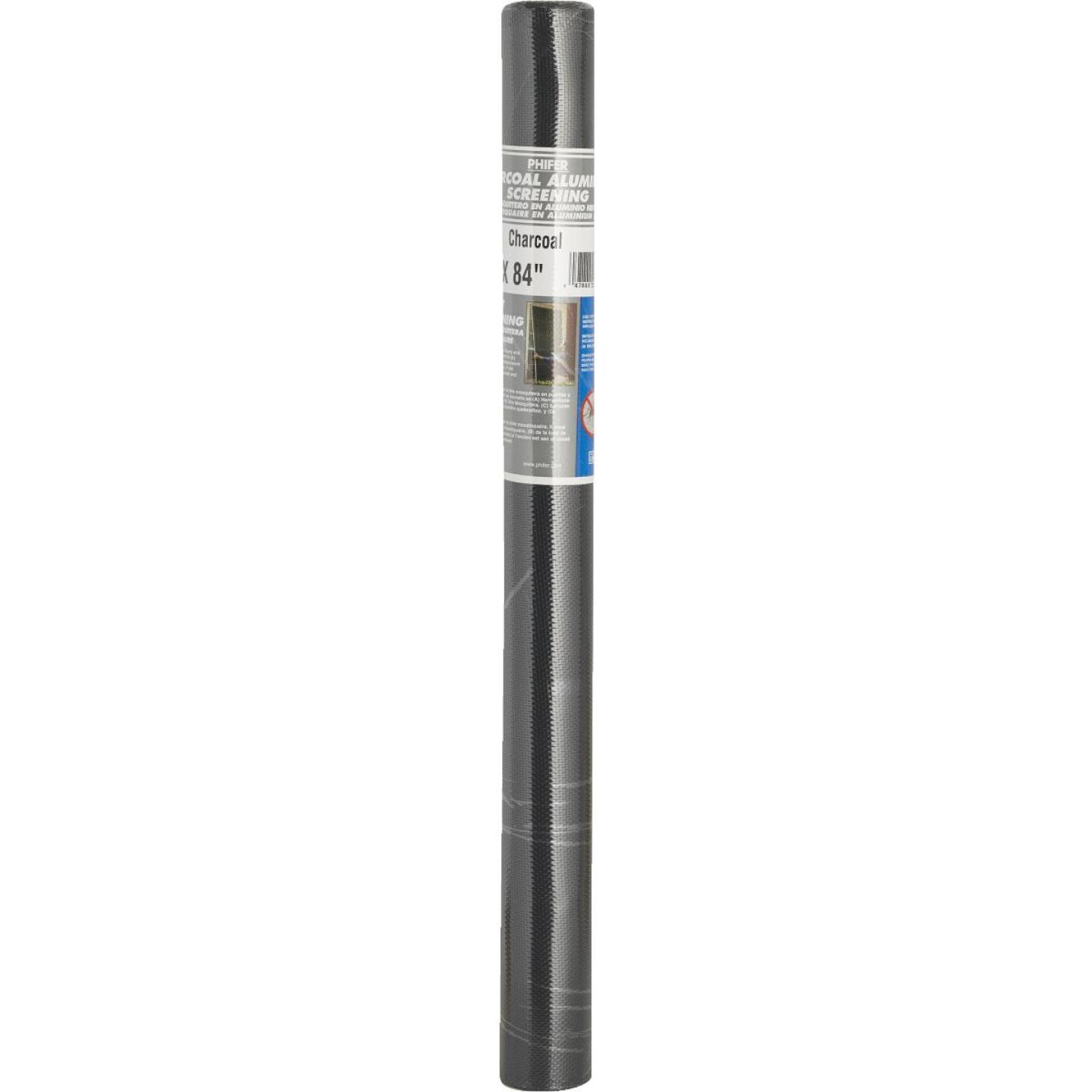 Phifer 24 In. x 84 In. Charcoal Aluminum Screen Ready Rolls Image 3