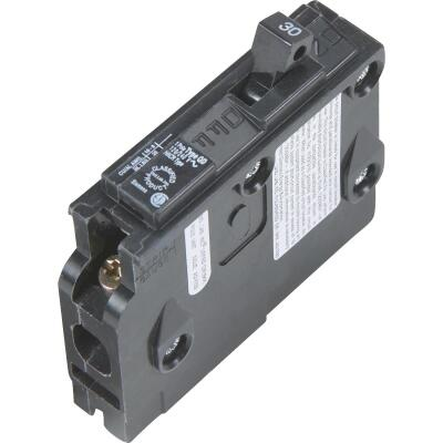 Connecticut Electric 30A Single-Pole Standard Trip Packaged Replacement Circuit Breaker For Square D
