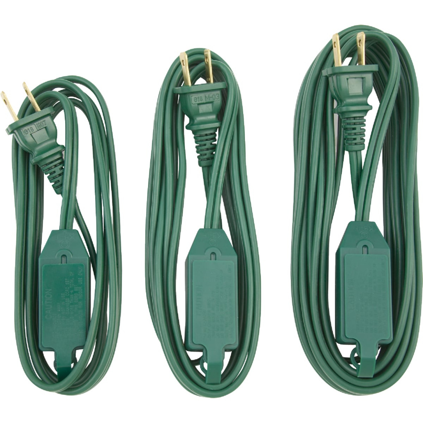 Do it 6 Ft./9 Ft./15 Ft. 16/2 Extension Cord Set (3-Pack) Image 3