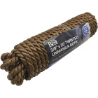Do it 3/8 In. x 50 Ft. Natural Twisted Unmanila Polypropylene Packaged Rope Image 2