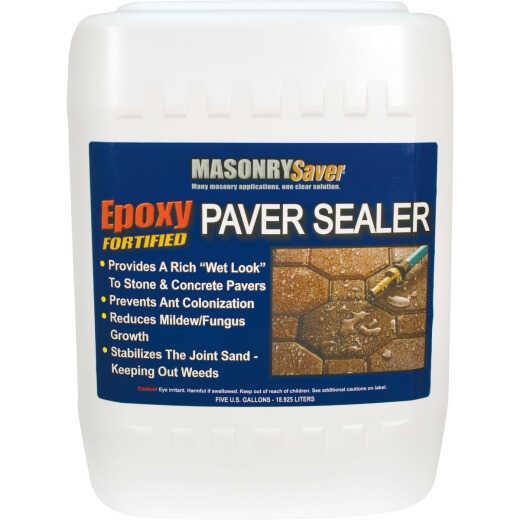 Masonry Saver Clear Satin Concrete Sealer, 5 Gal.