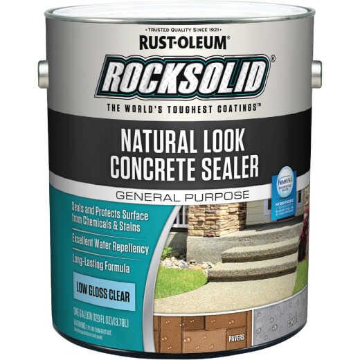 Rust-Oleum RockSolid Natural Look Concrete Sealer, 1 Gal., Clear
